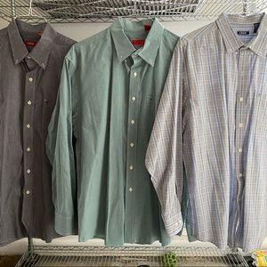 3 IZOD Button Down Shirts
